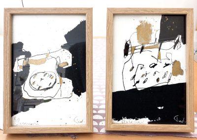 Encres sur papier-13x18cm