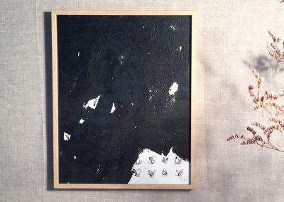 Litanies-Encre sur papier-24x30cm