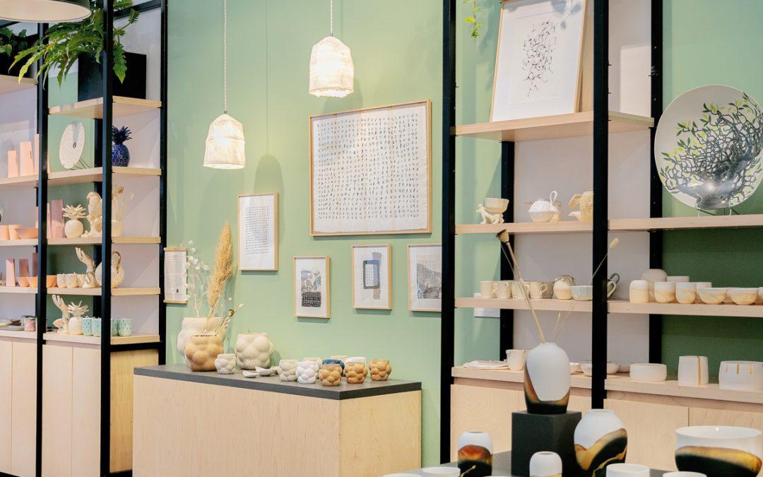 Exposition au concept store EMPREINTES, Paris